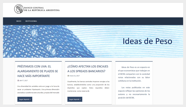 Blog Ideas de Peso